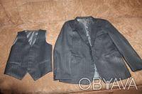 форма для мальчика 2-4 класс. длина изделия пиджак - 58 см, длина рукава - 52 см. Чернигов, Черниговская область. фото 2