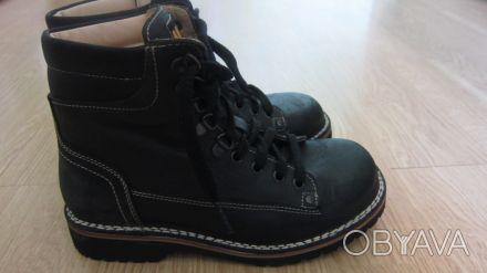 Кожаные ботинки Piedro, 36р. подростковый. Носили от силы две недели в конце про. Чернигов, Черниговская область. фото 1