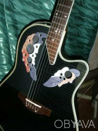 Срочно продам-обменяю электро-акустическую гитару  Feeling модель Ovation с фирм. Чернигов, Черниговская область. фото 2