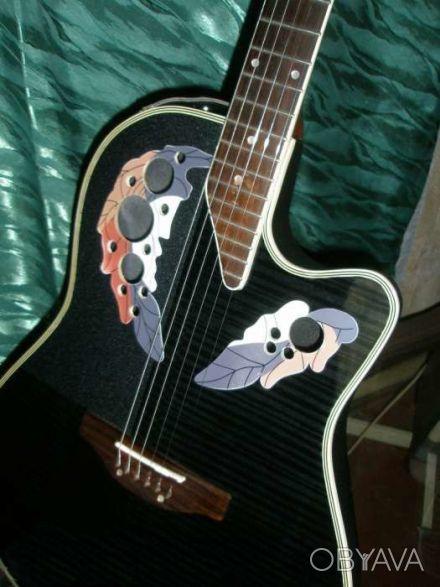 Срочно продам-обменяю электро-акустическую гитару  Feeling модель Ovation с фирм. Чернигов, Черниговская область. фото 1