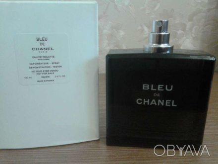 ᐈ мужская туалетная вода Chanel Bleu De Chanel 100ml тестер ᐈ
