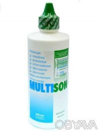 Раствор для линз Multison 375ml. Чернигов. фото 1
