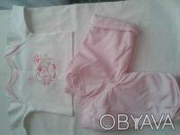 Продам велюровый деми-комбинезон  M ARKS & SPENCER  розовый на девочку,на тонень. Чернігів, Чернігівська область. фото 7