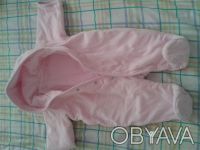 Продам велюровый деми-комбинезон  M ARKS & SPENCER  розовый на девочку,на тонень. Чернігів, Чернігівська область. фото 5