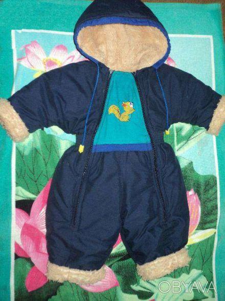 Тёплый,удобный комбинезон для ребёнка(можно носить как зимой,так осенью и весной. Чернигов, Черниговская область. фото 1