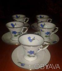 Новый кофейный сервиз на 5 персон. Чернигов. фото 1