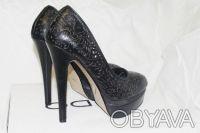 Брендовые Туфли  Стильные женские кожаные черные туфли из США оригинал ALDO Ald. Чернигов, Черниговская область. фото 4