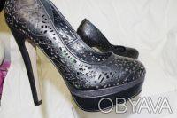 Брендовые Туфли  Стильные женские кожаные черные туфли из США оригинал ALDO Ald. Чернигов, Черниговская область. фото 7