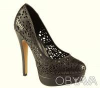 Брендовые Туфли  Стильные женские кожаные черные туфли из США оригинал ALDO Ald. Чернигов, Черниговская область. фото 3