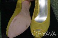 Гламурные женские туфли желтого цвета, производство Report Signature из США  - . Чернигов, Черниговская область. фото 8