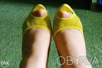 Гламурные женские туфли желтого цвета, производство Report Signature из США  - . Чернигов, Черниговская область. фото 6