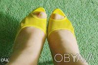 Гламурные женские туфли желтого цвета, производство Report Signature из США  - . Чернигов, Черниговская область. фото 5