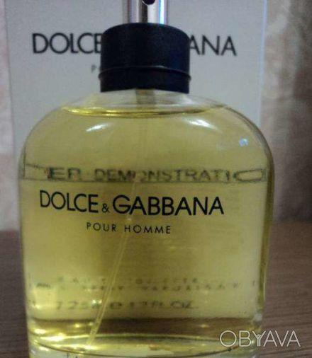 мужская туалетная вода Dolce&Gabbana pour Homme 125 мл, оригинальный тестер для . Чернигов, Черниговская область. фото 1