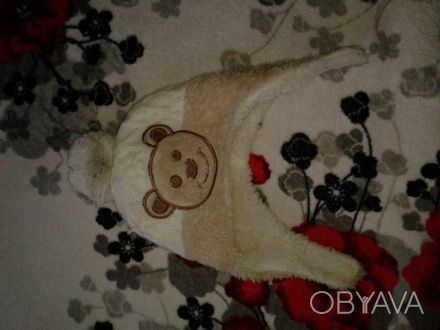 Продам зимнюю шапочку на 1 годик состояние отличное.. Чернігів, Чернігівська область. фото 1