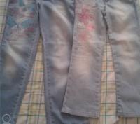 Продам гламурный джинсовый набор Gloria Jeans курточка и 2 пары джинсов, всё с в. Чернігів, Чернігівська область. фото 8
