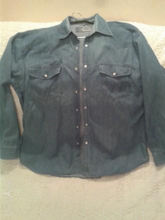 53977f8e06a3dff ᐈ Рубашка мужская джинсовая, р.L(41-42) ᐈ Чернигов 200 ГРН ...