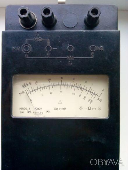 Мегаомметр М4100/4