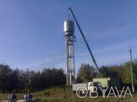 Изготовление водонапорных башен 25мкуб в харькове