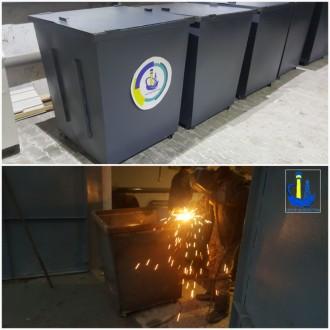 Мусорные контейнеры и баки для мусора, изготовление и доставка. Сновск (Щорс). фото 1