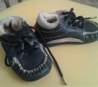 Продам демисезонные ботиночки Haribo(Германия),тёмно-синего цвета,р.21,по стельк. Чернигов, Черниговская область. фото 4