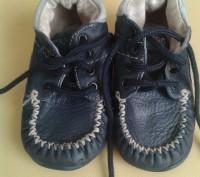 Продам демисезонные ботиночки Haribo(Германия),тёмно-синего цвета,р.21,по стельк. Чернигов, Черниговская область. фото 2