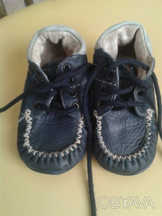 Продам демисезонные ботиночки Haribo(Германия),тёмно-синего цвета,р.21,по стельк. Чернигов, Черниговская область. фото 1
