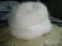 Шапки зимние из 100 % крольечего пуха вязанные. Сами держим кроликов и вяжем из. Чернигов, Черниговская область. фото 2