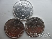 Продам как вместе, так и поштучно несколько серебряных монет фашистской Германии. Прилуки, Черниговская область. фото 11