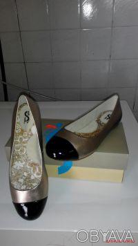 Продам супер туфли кожа новые 37,5. Днепр. фото 1