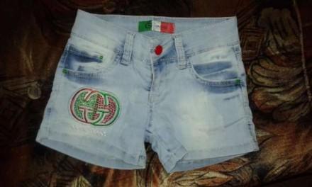 Шорты джинсовые. Апостоловo. фото 1