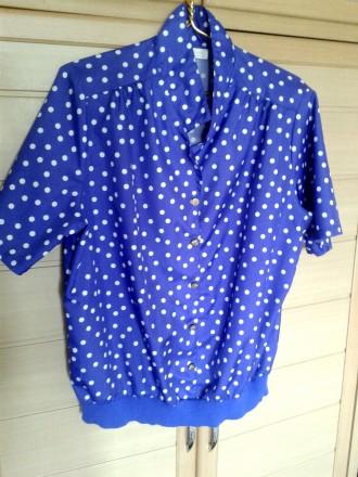 Блузка женская Roaman's летняя шелк вискоза размер 54 - 56. Запорожье. фото 1