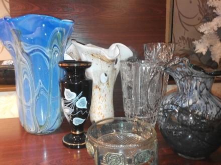 вазы в ассортименте. Днепр. фото 1