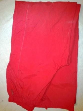 Cпортивные ярко-красные брюки,. Киев. фото 1