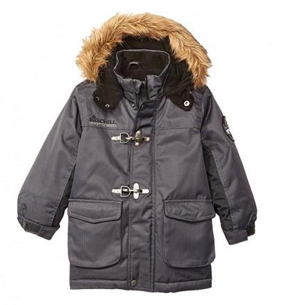 Супер теплая добротная зимняя куртка парка Big Chill из США. 2 расцветки. Киев. фото 1