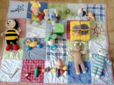 Игрушки от трех месяцев набор. Киев. фото 1