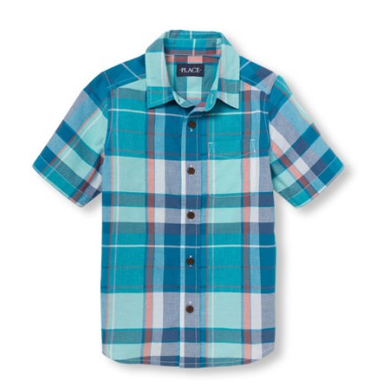 Новые стильные рубашки для мальчиков 10-14 лет, THE CHILDRENS PLACE. Кременчуг. фото 1