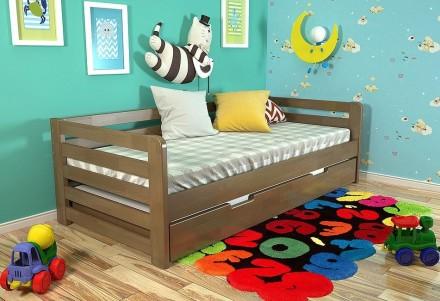 Детская деревянная кровать Немо 80х190 , 90х200. Чернигов. фото 1