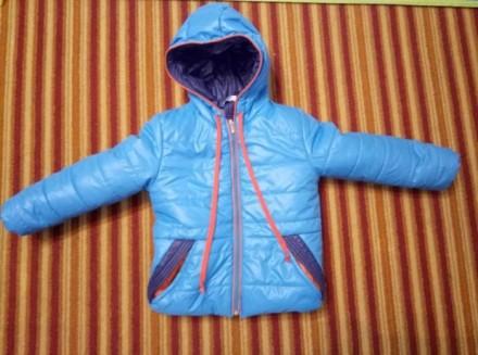 Демисезонную курточку на мальчика, ТМ Одягайко, р.104. Днепр. фото 1