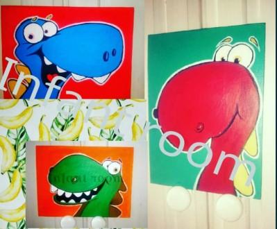 Веселые динозаврики. Днепр. фото 1