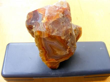 Агат необработанный, полудрагоценный камень.Очень красивый!. Новая Каховка. фото 1