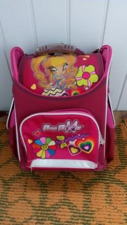 Рюкзак школьный 1-4 класс для девочки. Никополь. фото 1