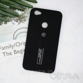 Чехол для Xiaomi redmi 4x противоударный бампер (черный)