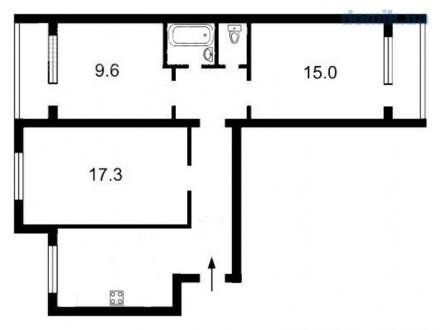 Продается 3 к. квартира по адресу ул. Тимошенко 29а, 72/41/8/ 7/9 этажного дом. . Оболонь, Киев, Киевская область. фото 11