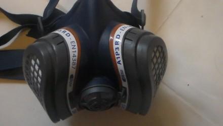 Респиратор-полумаска GVS Elipse P3, размер M/L SPR501IFUC используется в фармаце. Киев, Киевская область. фото 3