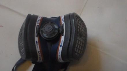 Респиратор-полумаска GVS Elipse P3, размер M/L SPR501IFUC используется в фармаце. Киев, Киевская область. фото 2