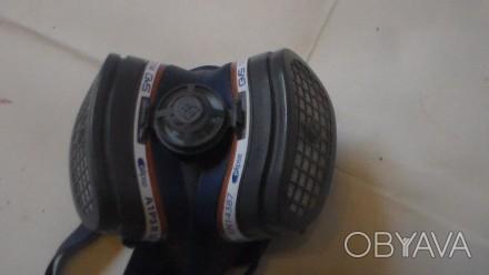 Респиратор-полумаска GVS Elipse P3, размер M/L SPR501IFUC используется в фармаце. Киев, Киевская область. фото 1
