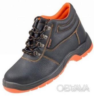 Ботинки рабочие кожаные на полиуретане