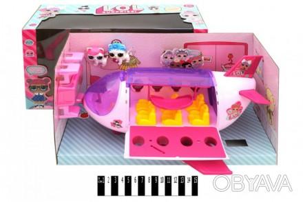 Лялька   LOL  з літаком-трансформером (коробка ) ТМ854А р.39,5*16*21,5см (шт.)