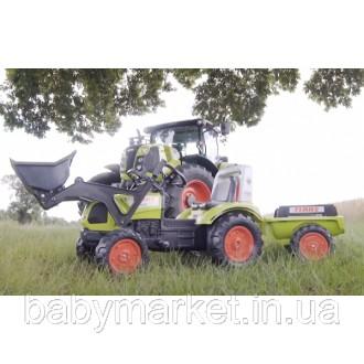 Бесплатная доставка по Украине! Трактор Falk 1040AM CLAAS ARION с прицепом и ков. Киев, Киевская область. фото 3