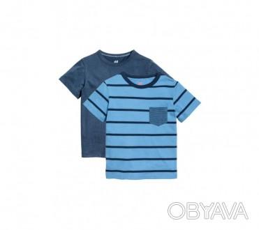 HM Комплект футболок 2шт для мальчика 4-6 лет (110-116 см)